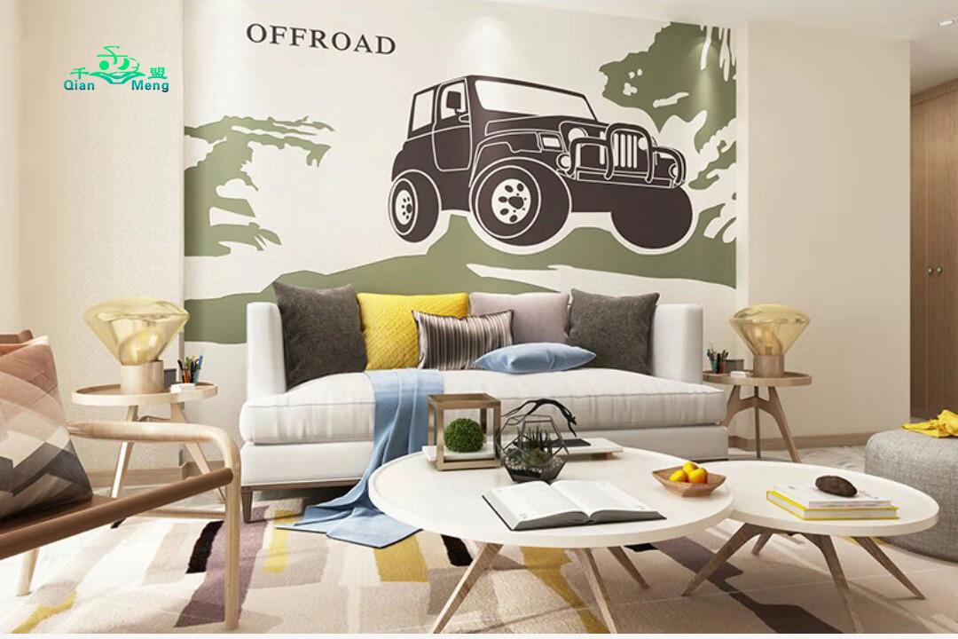 现代风格、客厅、现代-155