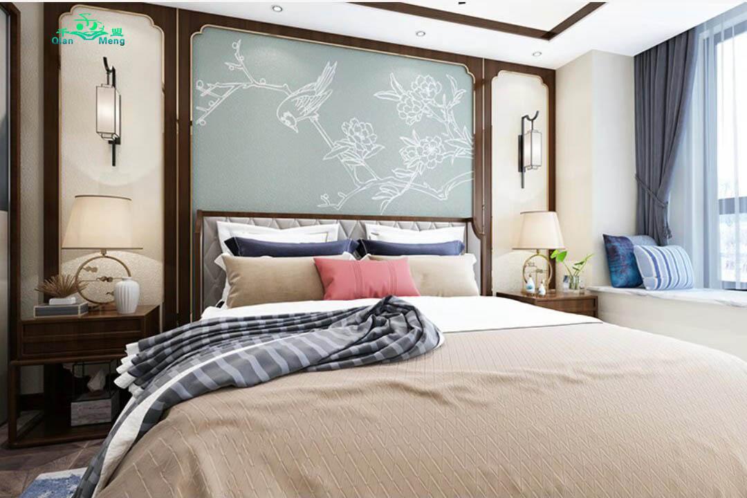 中式风格、卧室、中式-152