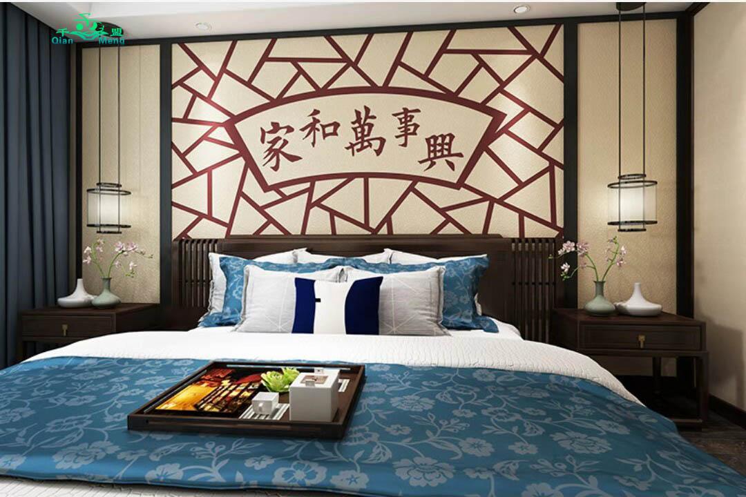中式风格、卧室、中式-159