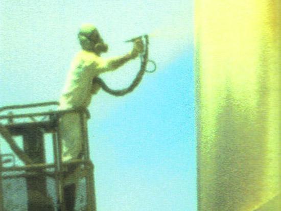 外墙环保喷涂料特点