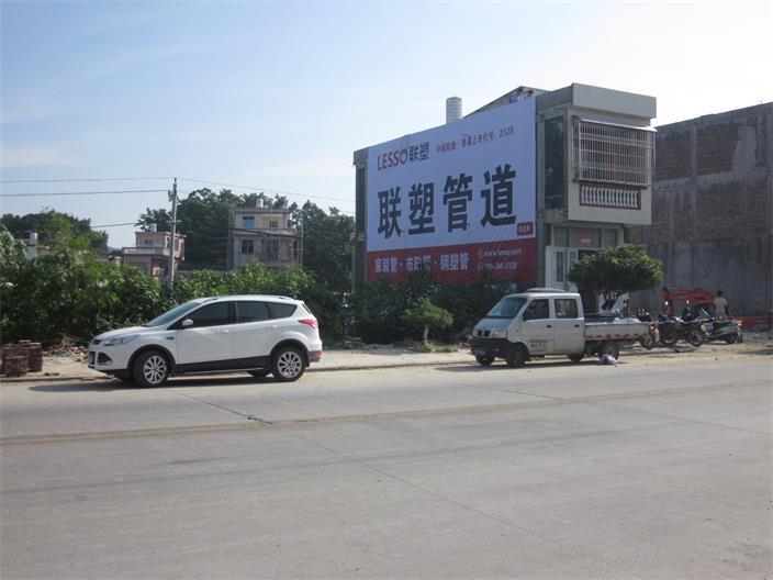 机械墙体广告
