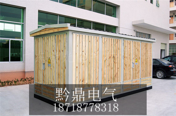 YBM-12镶木条欧式箱变