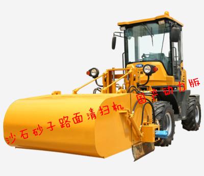 【方法】渣土清扫机应用小结 渣土清扫机的用途分析