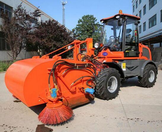 【多图】工程施工清扫车技术应用 工程施工清扫车让道路更加整洁