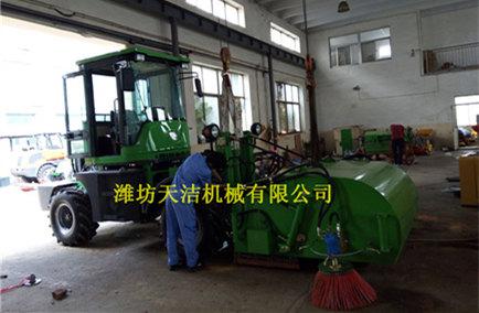 【新闻】工程施工清扫车降低人工劳动 工程施工清扫车的优势介绍