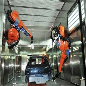 機器人噴涂設備