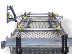 三维焊接平台框架案例