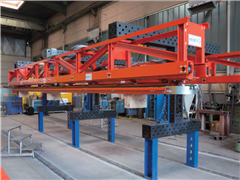 三维焊接工装桁架案例