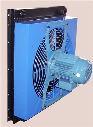 混凝土输送泵散热器