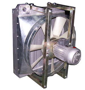 混凝土输送泵液压油散热器