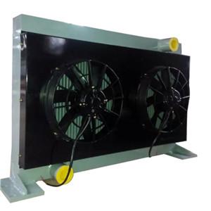 混凝土泵车液压油散热器