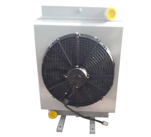 全液压射雾车用液压油散热器