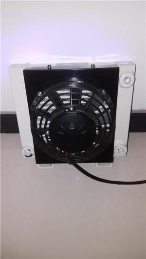 小型压路机用油冷却器