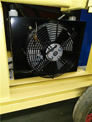 細石沙漿泵用液壓油散熱器