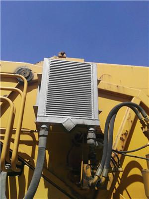 25吨起重机液压油散热器