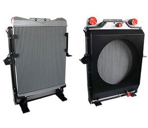 礦車用水箱散熱器