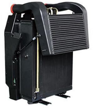 農林機械用水箱散熱器