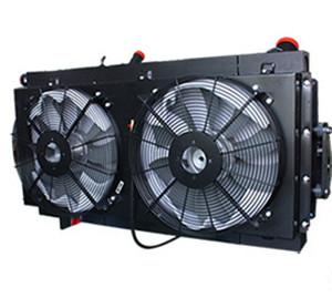 压路机用水箱散热器