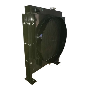 挖掘机水箱散热器