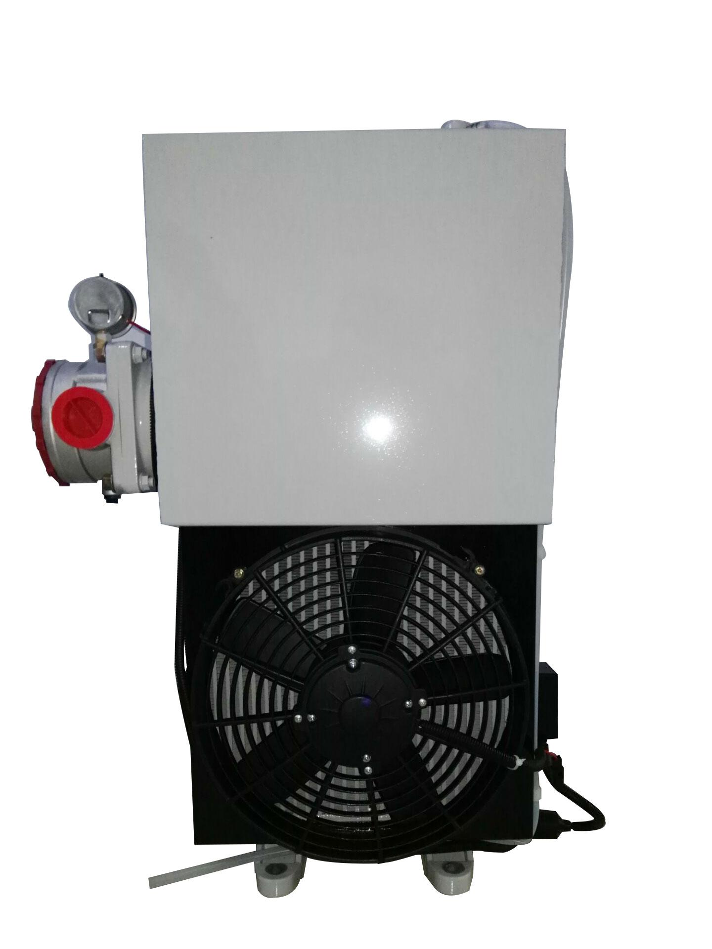 16方混凝土搅拌车用液压油散热器