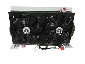三一混凝土泵车用风冷液压油散热器