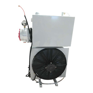 中联重科混凝土搅拌车用29升液压油散热器