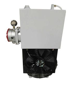 混凝土搅拌车用26升380v液压油冷却器