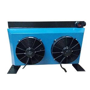 中联泵车液压油散热器