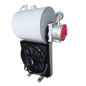 三一搅拌车液压油散热器