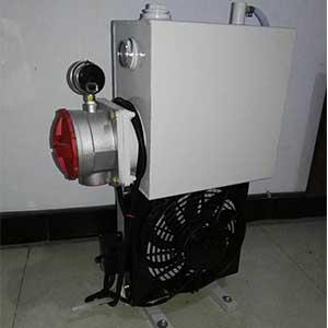 搅拌车用16升液压油散热器