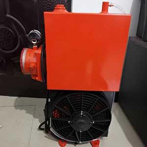 搅拌车用18升液压油散热器