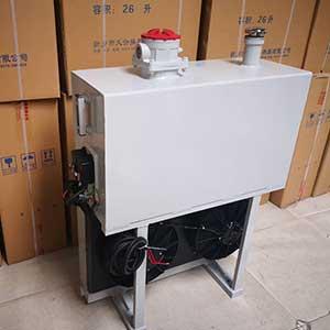 垃圾压缩车用液压油散热器