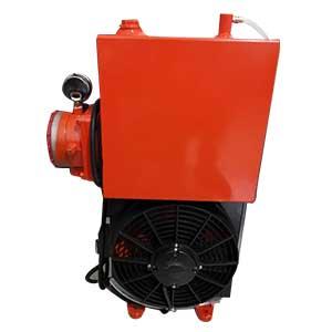 18升红色液压油散热器