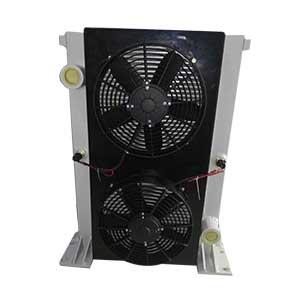 强夯机用液压油散热器
