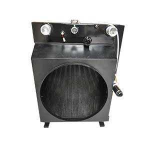 环卫车辆用组合式水箱散热器