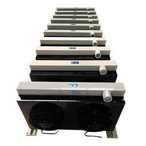 混凝土泵车用风冷却器散热器