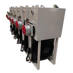 青饲料收获机用液压油散热器