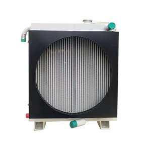 光伏打桩机用水油组合散热器