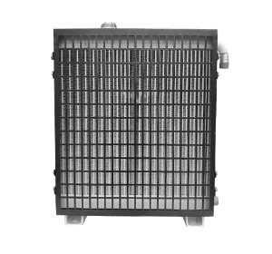 護欄打樁機用水箱散熱器