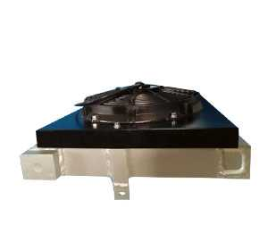 搅拌车ZF减速机用液压油散热器