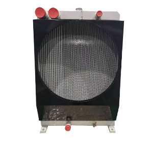 甘蔗收获机械用水箱散热器