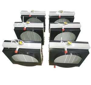 勘探機械設備用水箱散熱器