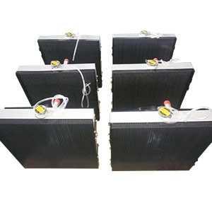 勘探机械用水箱散热器