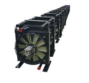矿井下挖掘机用风冷却器