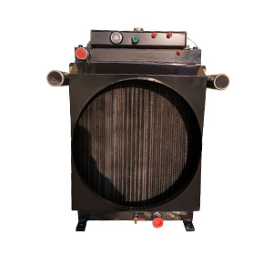 攤鋪機用復合水箱散熱器