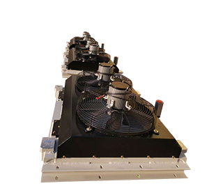 液压锤用风冷液压油散热器