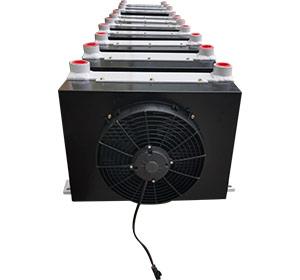 12吨随车吊用液压油散热器