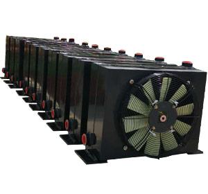 80混凝土输送泵用液压油散热器