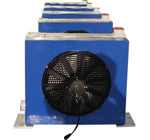 混凝土输送泵用液压油散热器