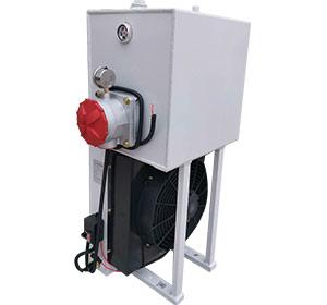 青儲機用液壓油散熱器